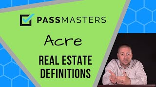 What is an Acre?  How many square feet are in an acre?  Acre equivalent measurements.