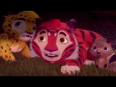 Лео и Тиг - Красный олень - Серия 6 - Новые российские мультфильмы для детей о жителях тайги