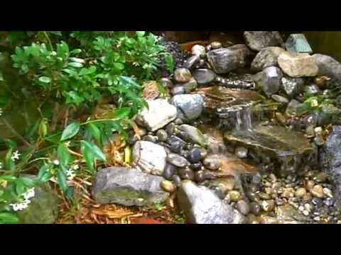 Beau Backyard Pondless Waterfall