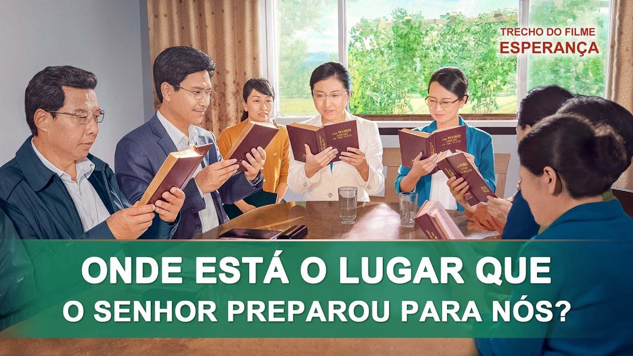 """Filme evangélico """"Esperança"""" Trecho 5 – Onde está o lugar que o Senhor preparou para nós?"""