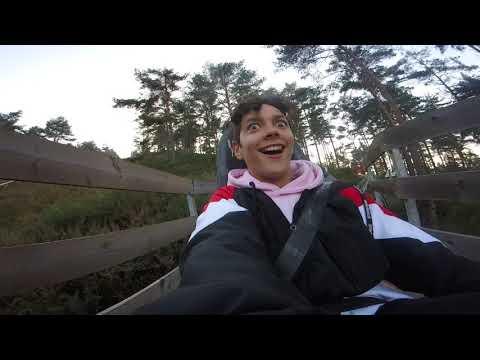 Deboy no Alpine Coaster - Ribeira de Pena