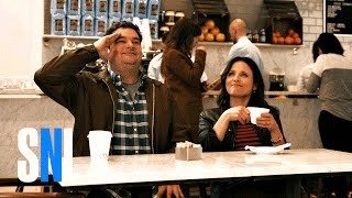 Bobby Has Coffee with President Julia Louis-Dreyfus