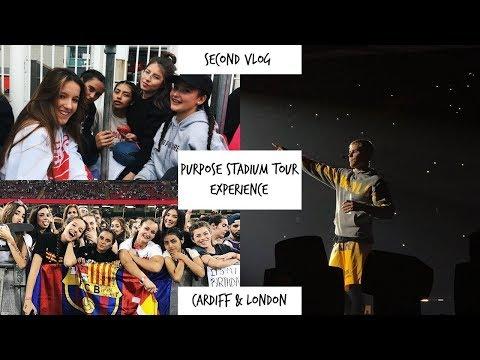 SECOND VLOG: PURPOSE TOUR CARDIFF & LONDON EXPERIENCE/ Carla Miró