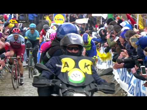 2018 Tour of Flanders race highlights