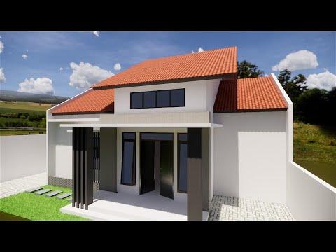 desain rumah minimalis 1 lantai #live eps2 - youtube