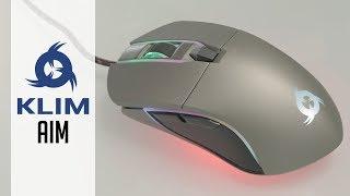 KLIM Aim - Full RGB high performance mouse for under 30€