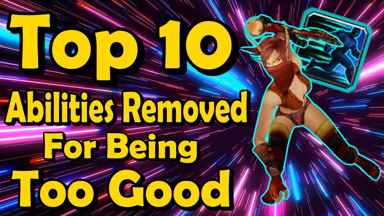 Top 10 Abilities Removed For Being Too Good in World of Warcraft thumbnail