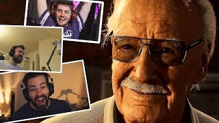 Streamers React to Stan Lee Cameo in Marvel
