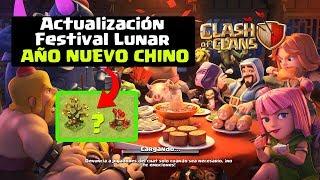 ¿Qué Hay en la Nueva Mini Actualización Clash of Clans? Febrero 2018 Año Nuevo Chino ǀ ECOC