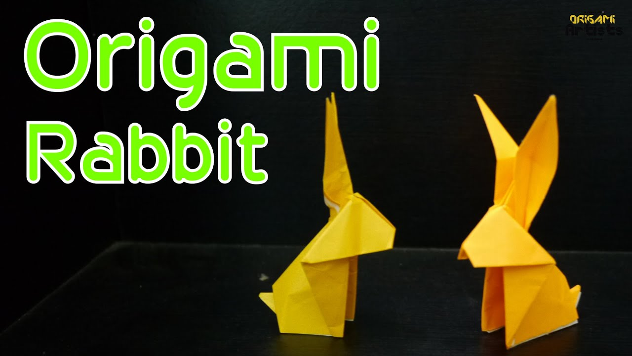 Origami rabbithow to make simple origami rabbit traditional origami rabbithow to make simple origami rabbit traditional design sciox Choice Image