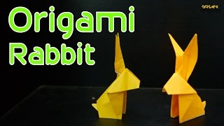 Origami Rabbit:how To Make Simple Origami Rabbit ( Traditional Design)