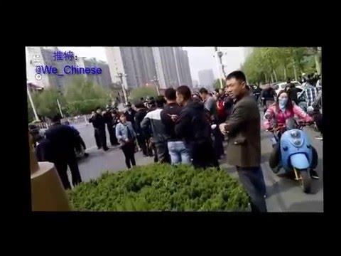 2016.4.15 河北省石家庄市银佛家园业主维权遭警察镇压