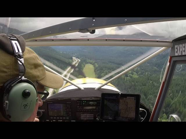 Bandera State Airport (4W0) Landing in Zenith CH701
