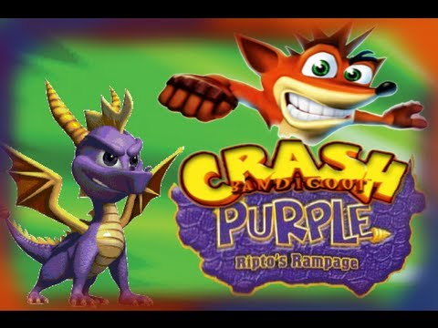 Crash Bandicoot Purple Ripto's Rampage - Part 1 - Worlds Collide