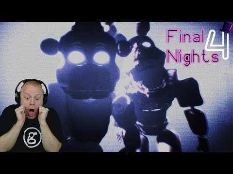 WE CAN'T USE YOU ANYMORE | FINAL NIGHTS 4 - NIGHTS 4 AND 5 - BAD ENDING