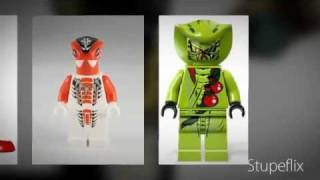 Lego Ninjago ALL OF THE SNAKES MINIFIGURE! (2012)
