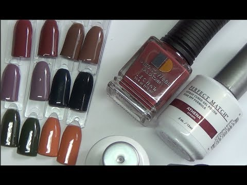 Perfect Match Modern Muse Collection From Lechat Beanana711 Gel Polish Swatch Review