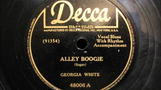 ALLEY BOOGIE by Georgia White R&B