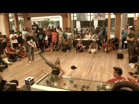 Waba Jam 16 Bboy top 8-Georgia V.  Birdie Owl