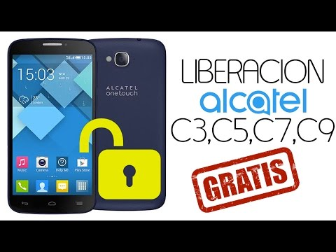 Liberar  ALCATEL ONE TOUCH POP C3, C5, C7 C9 GRATIS!