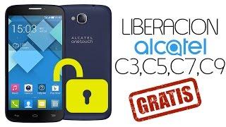 Liberar  ALCATEL ONE TOUCH POP C3, C5, C7 C9 GRATIS!
