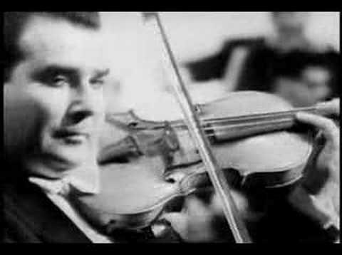 Christian Ferras plays Mendelssohn Concerto 1st mv - part 1