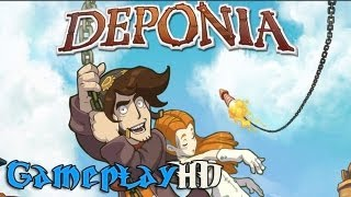 Deponia Gameplay (PC/HD)