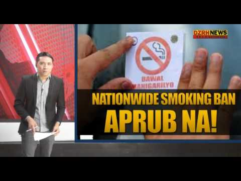 EXECUTIVE ORDER PARA SA NATIONWIDE SMOKING BAN, APRUB NA NI PANG. DUTERTE!