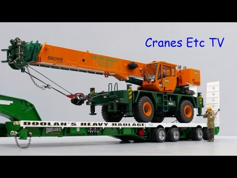 Drake Grove RT540E Mobile Crane
