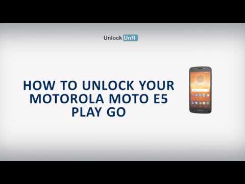 How To Unlock Motorola Moto E5 Play Go By Unlock Code To Work With