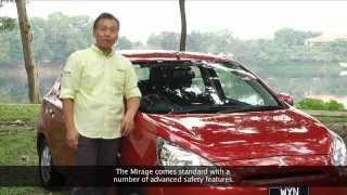 Mitsubishi Mirage Test Drive with Hiroshi Masuoka