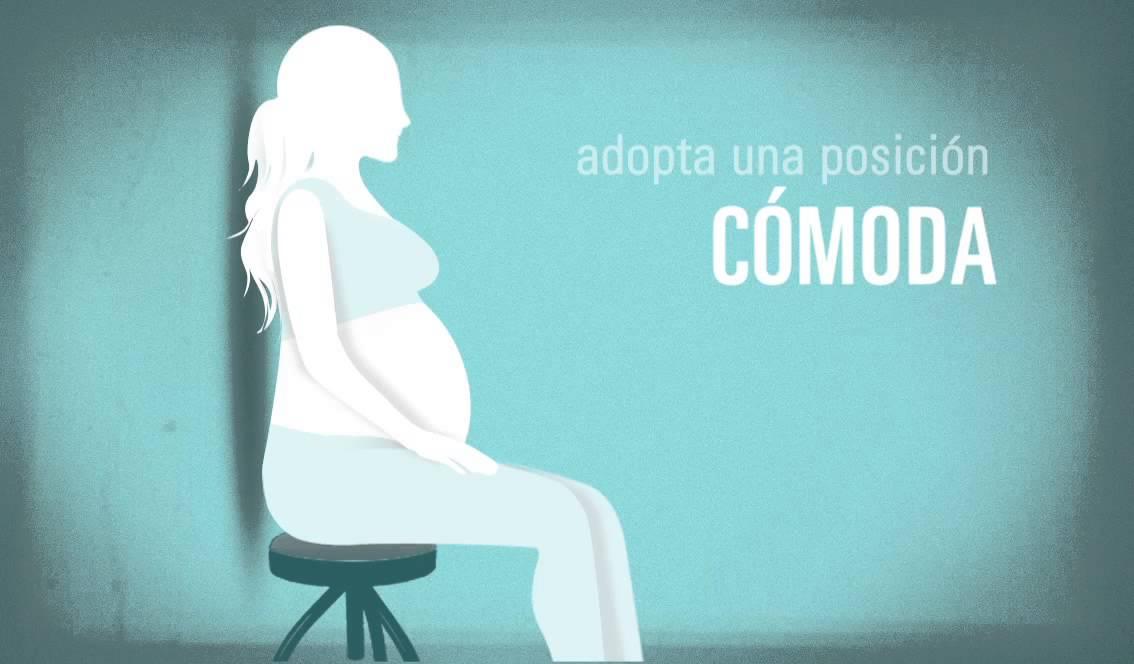 Masaje perineal embarazo pareja