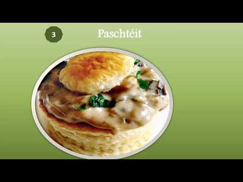 Top 10 Highest foods of Luxembourgish