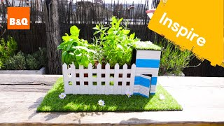 Create a mini indoor allotment