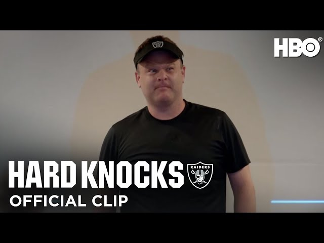 Hard Knocks: Training Camp w/ the Oakland Raiders ft. Jon Gruden & Frank Caliendo (E3 Clip) | HBO