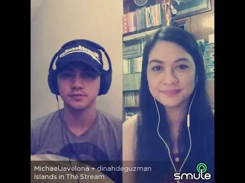 ISLANDS IN THE STREAM-SMULE-MTG_Dinah_EMV-with Michael Javelona