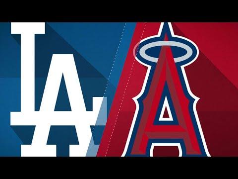 Stripling, Turner lead Dodgers past Angels: 7/7/18