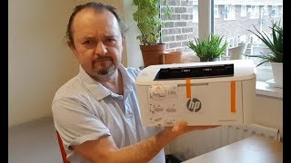 HP LaserJet Pro M15w Unboxing & Hands on Review | LaserJet or InkJet Printer