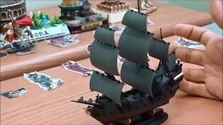распаковка и обзор корабля  Джека Воробья