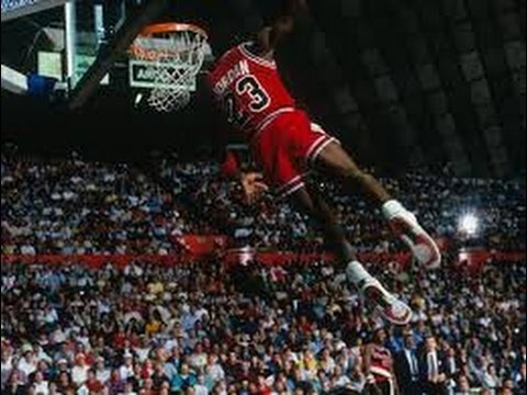 new product 1dc51 66ed0 Michael Jordan Kiss the Rim Dunk 1987