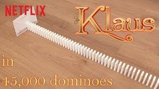 Klaus in 45,000 Dominoes 😲 Netflix Futures
