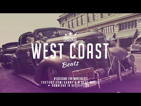 """West Coast"" - Freestyle Rap Beat Hip Hop Instrumental  (Prod: Danny E.B)"