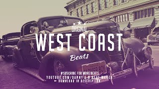 West Coast - Freestyle Rap Beat Hip Hop Instrumental  (Prod: Danny E.B)