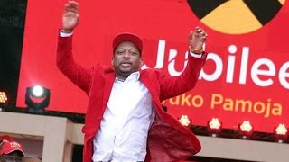 Mike Sonko declared winner of Nairobi Jubilee gubernatorial nomination