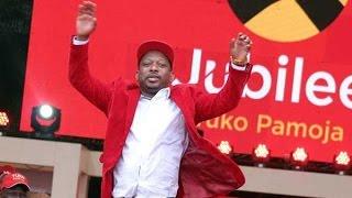 Mike Sonko declared winner of Nairobi Jubilee gubernatorial nomination