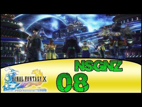 Final Fantasy X HD Remaster - Reto NSGNZ | Capitulo 8 # Llanura de los rayos y Bosque Macalania