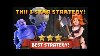 TH11 QW+BOVAWI Easy 3 Star Strategy Clash of clans