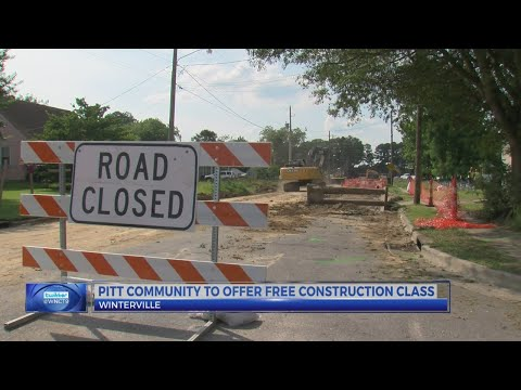 Pitt Community College to offer free construction class
