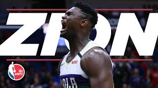 Download All of Zion Williamson's best dunks, blocks and highlights from his first 8 games | NBA on ESPN Mp3 and Videos