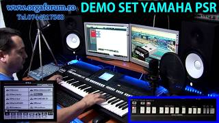 DEMO PACK SET ROMANIA unofficial yamaha  PSR v.2 2014
